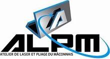 Logo ALPM (Atelier de Laser et Pliage du Mâconnais)